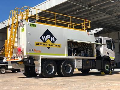 Service Trucks For Hire.