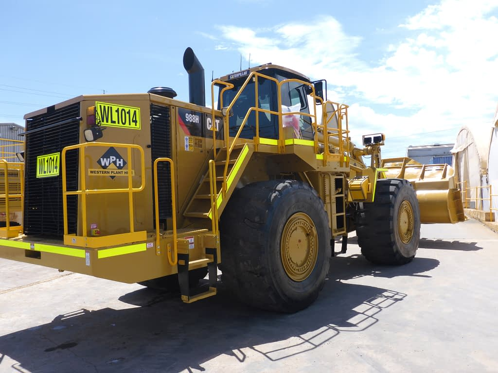 Caterpillar Wheel Loader 988H For Hire.