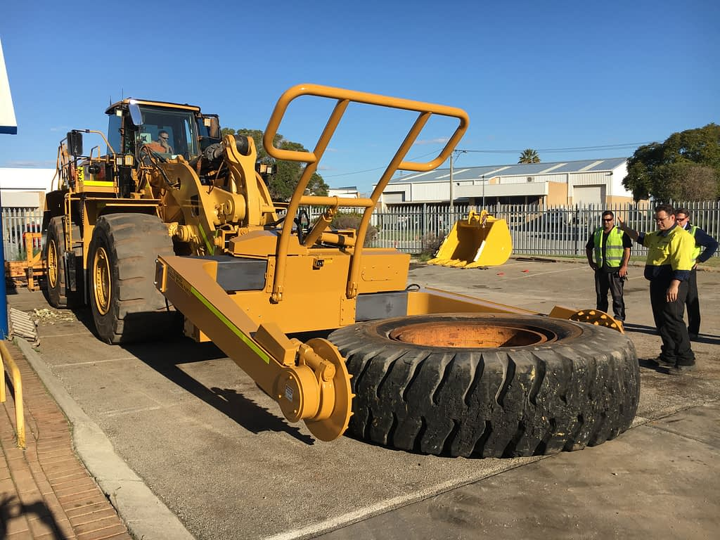 Caterpillar 988K Tyre Handler - For Hire