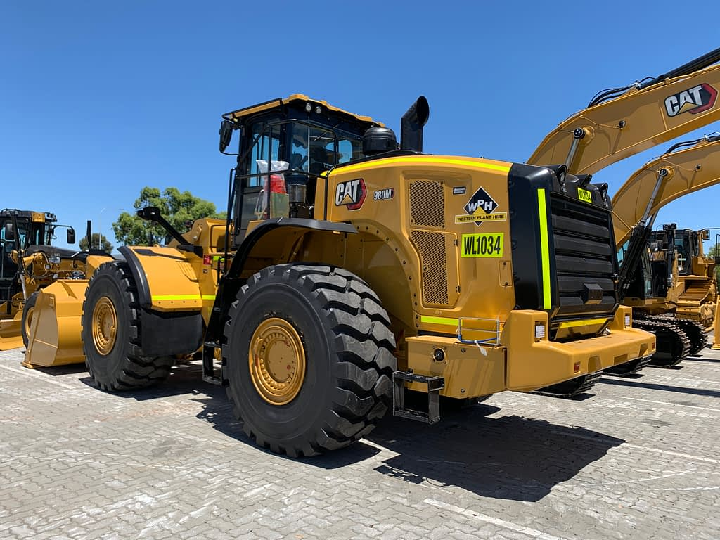 Caterpillar Wheel Loader 980M For Hire.