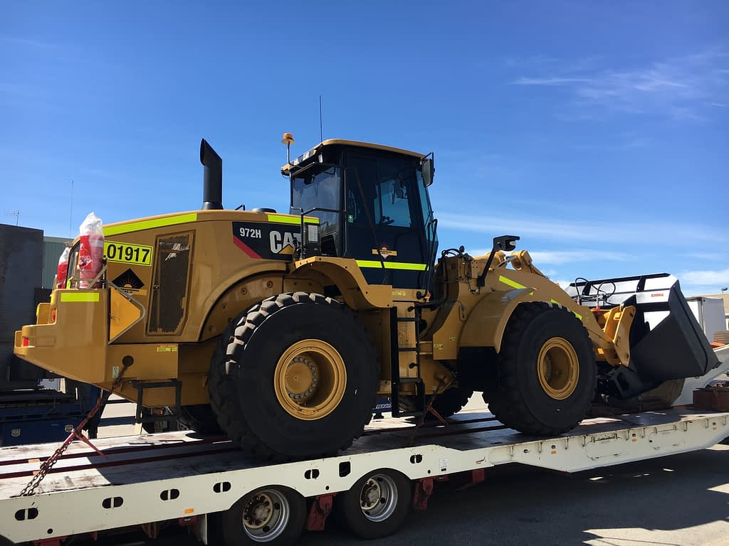 Caterpillar Wheel Loader 972H For Hire.