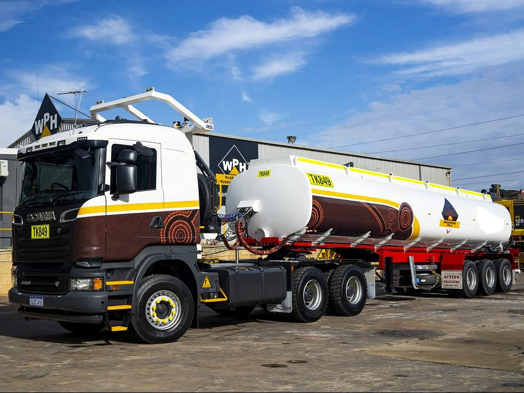 Scania R620 Prime Mover and Tanker - For Hire