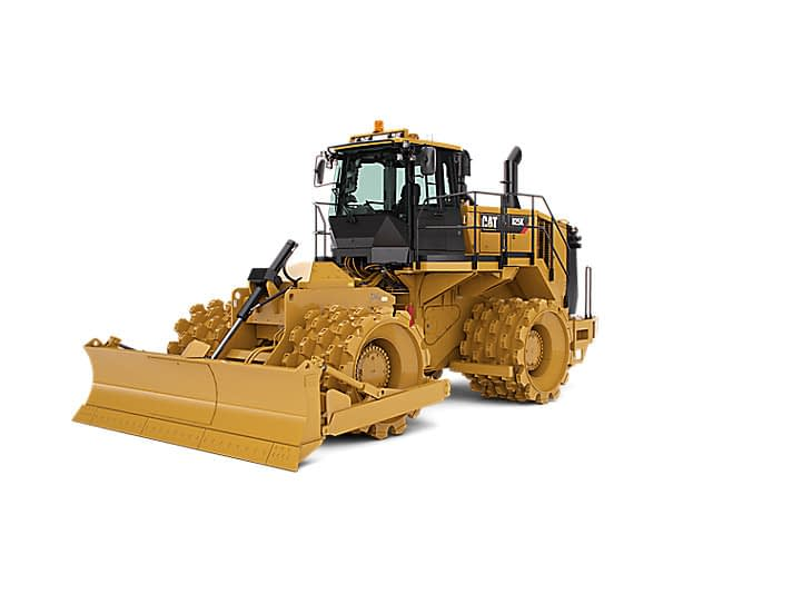 Caterpillar 825K Compactor For Hire.