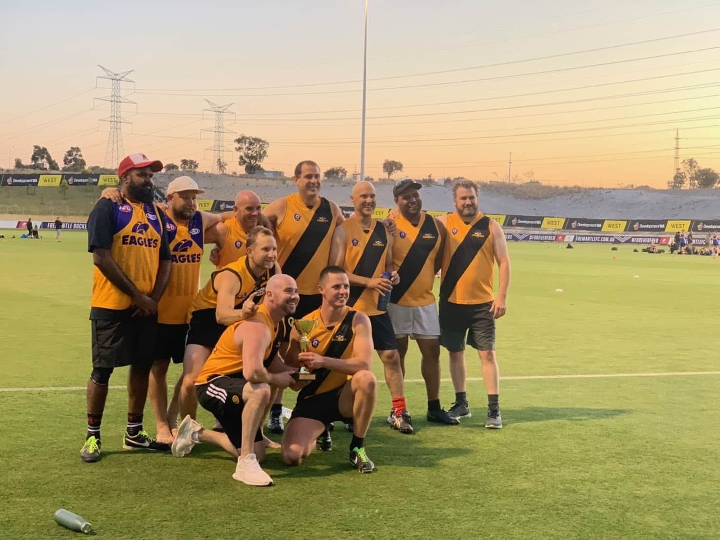 Western Plant Hire - Cockburn AFL 9's Team