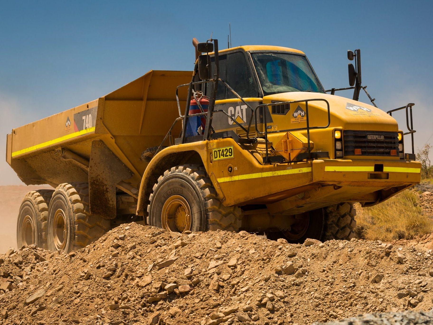 Caterpillar 740B Articulated Dump Truck - For Hire