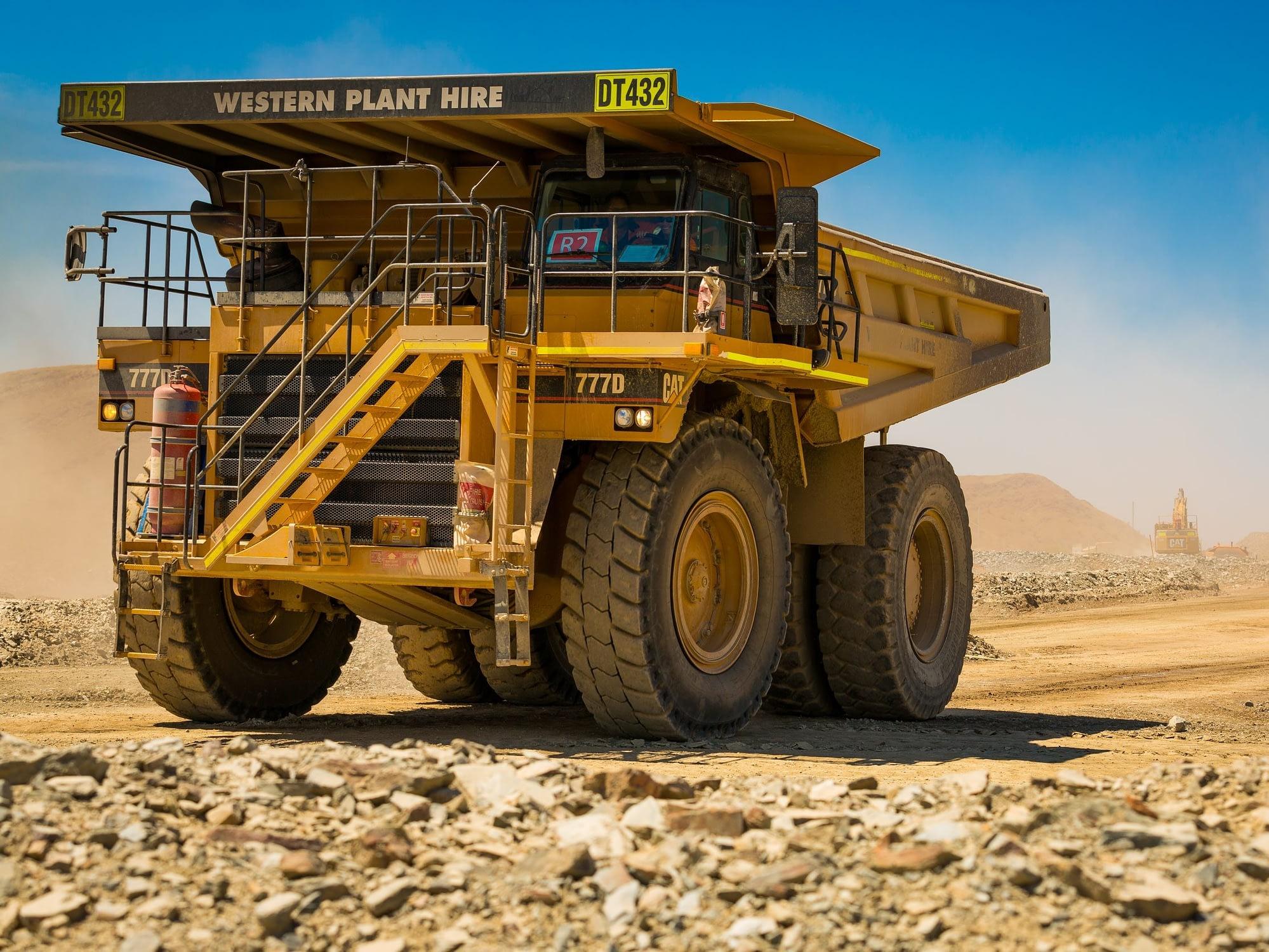 Caterpillar 777D Rigid Dump Truck - For Hire