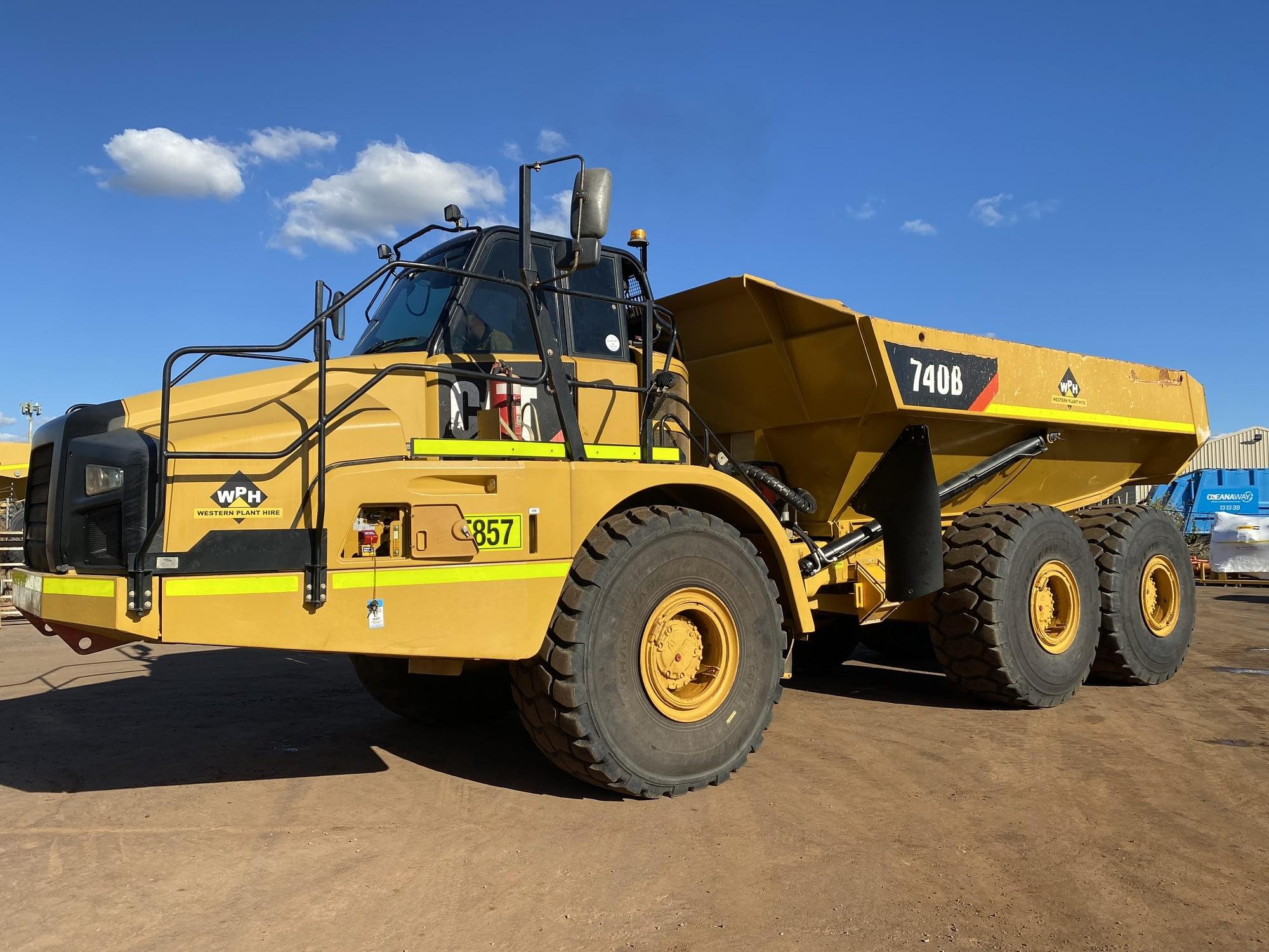 Caterpillar 740B Articulated Dump Truck