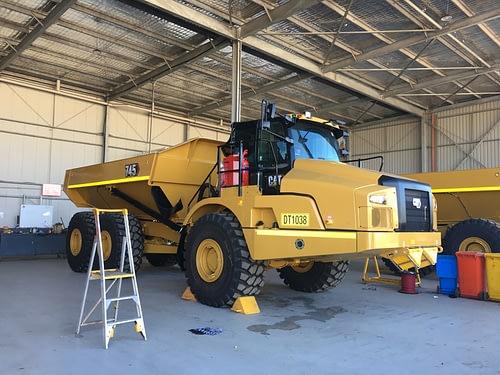 Caterpillar 745 Articulated Dump Truck - For Hire