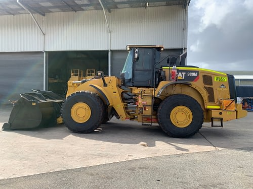 Caterpillar 980M Wheel Loader - For Hire