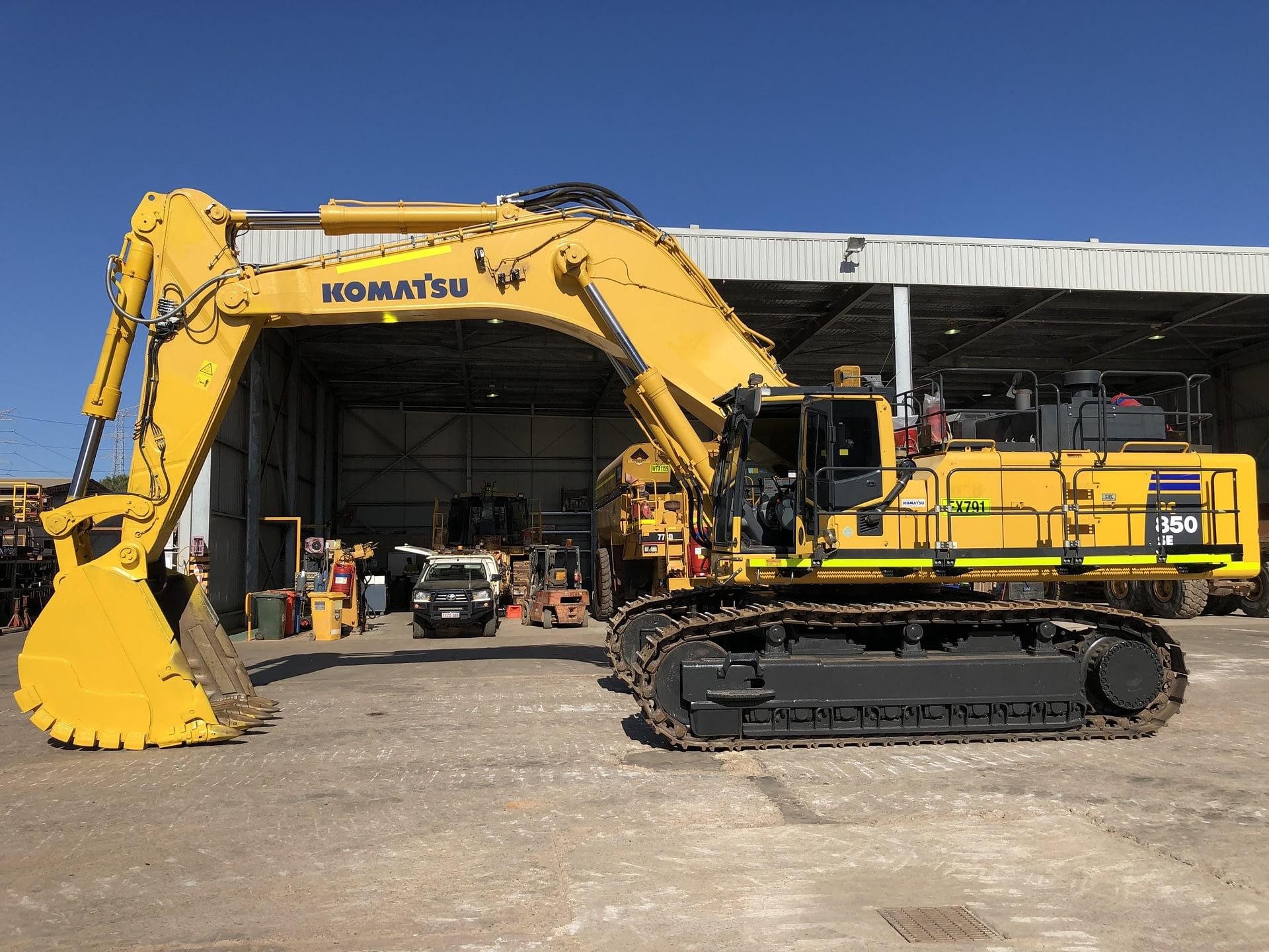 Komatsu PC850 Excavator - For Hire